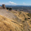 Details of the old ruins at Pergamum — Stock Photo