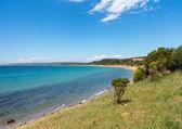 Beach and coastline at Anzac cove Gallipoli — Stock Photo