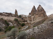 Hot air balloons at Cappadocia Turkey — Стоковое фото