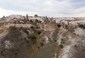 Hot air balloons at Cappadocia Turkey — Stok fotoğraf