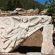 Ancient ruins of old Greek city of Ephesus — Stok fotoğraf