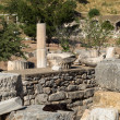 Ancient ruins of old Greek city of Ephesus — Stockfoto