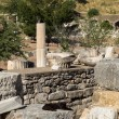 Ancient ruins of old Greek city of Ephesus — Stock fotografie