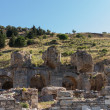Ancient ruins of old Greek city of Ephesus — Foto de Stock