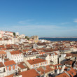 Alfama district of Lisbon Portugal — Stock Photo