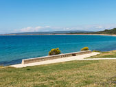 Old concrete bunker at Anzac cove — Stock Photo