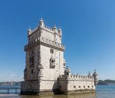 Belem tower on River Tagus near Lisbon — Stock Photo