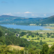 Lake District hills in Bassenthwaite — Stock Photo