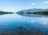 Derwentwater Lake District calm water — Stock Photo