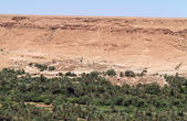 Aoufous in Morocco with green verdant valley — Stock Photo