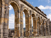 Ruins at Volubilis Morocco — 图库照片