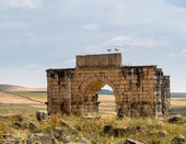 Ruins at Volubilis Morocco — Foto Stock