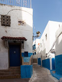 Rabat old town or medina Morocco — Stock Photo