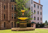 Robert Brough fountain Sydney Hospital — ストック写真