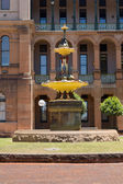 Robert Brough fountain Sydney Hospital — 图库照片