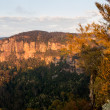 Sunrise from Echo Point in Blue Mountains Australia — Stock Photo #38224355