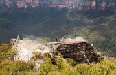 ブルー マウンテンズ オーストラリアでグロス · バレー — ストック写真
