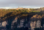 Sunrise from Sublime Point in Blue Mountains Australia — Stock Photo