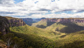 Grose Valley in Blue Mountains Australia — Stock Photo