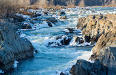 Great falls na potomac mimo washington dc — Stock fotografie