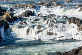 Great falls op potomac buiten washington dc — Stockfoto