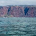 Rugged Na Pali coast from cruise — Stock Photo #40931631