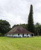 Waioli Huiia Mission Hall in Hanalei Kauai — Stockfoto
