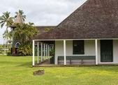 Waioli Huiia Mission Hall in Hanalei Kauai — Stock Photo