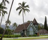 Waioli Huiia Mission Church in Hanalei Kauai — Stock Photo