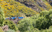 Twin diesel engines Taieri Gorge Railway — Stock Photo