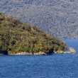 Fjord of Doubtful Sound in New Zealand — Stock Photo
