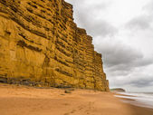 Jurassic Cliffs at West Bay Dorset in UK — Stock Photo