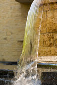 Waterfall outside American Indian Museum — Stock Photo