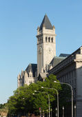 Tower of Old Post Office building Washington — Stock Photo