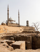 Alabaster Mosque Citadel Cairo Egypt — Stock Photo