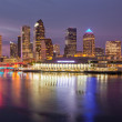City skyline of Tampa Florida at sunset — Stock Photo #50839479