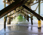 Redington Beach and pier in Pinellas County — Stock Photo