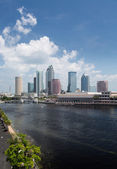 City skyline of Tampa Florida during the day — Stock Photo