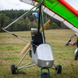 Stock Photo: Hang-glider