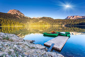 озеро — Стоковое фото