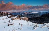 Bergen landschap — Stockfoto