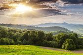 Paisagem de montanhas — Foto Stock