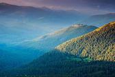 Beautiful view of rural alpine landscape — Stock Photo