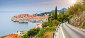 View on old town of Dubrovnik — Stock Photo