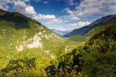 Fantastic view Tara river gorge — Stock Photo
