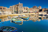 Mediterranean island of Malta. — Stock Photo