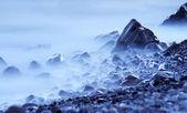 Měkké mlhy na pobřeží — Stock fotografie