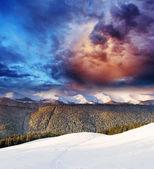Dramatisk himmel — Stockfoto