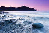 Summer sunset over the sea — Stock Photo