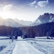 Winter mountains in the national park Durmitor — Stock Photo